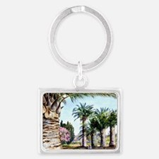 Specimens of the Coquito Palm o Landscape Keychain