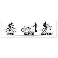 Ride Rinse Repeat Bumper Bumper Bumper Sticker