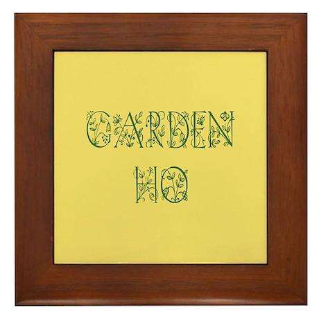 Garden Ho Framed Tile