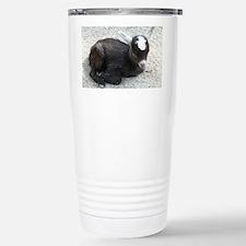 Curled Up Baby Goat Travel Mug