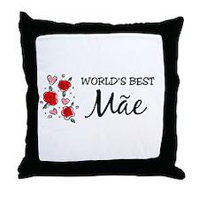 WB Mom [Portuguese] Throw Pillow