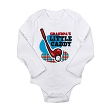 Grandpa'S Little Caddy Long Sleeve Infant Bodysuit