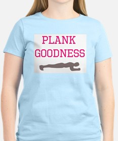 Plank goodness pink T-Shirt