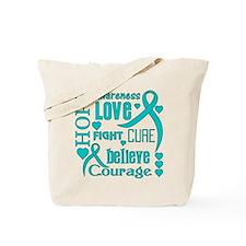 Ovarian Cancer Hope Tote Bag