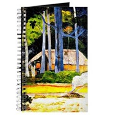 Gauguin - Cabin under the Trees Journal