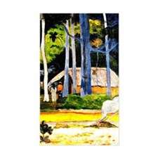 Gauguin - Cabin under the Tree Decal