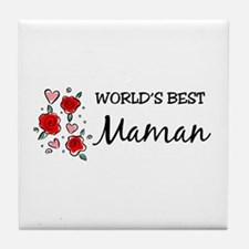 WB Mom [Persian] Tile Coaster