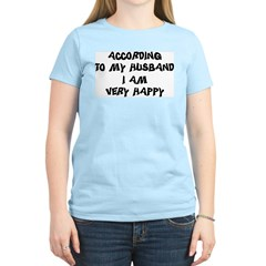 Women's Light Blue T-Shirt