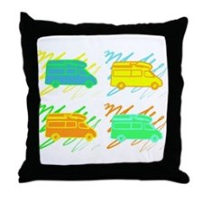 Cool Airstream Throw Pillow