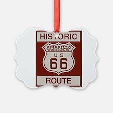 Amarillo Route 66 Ornament
