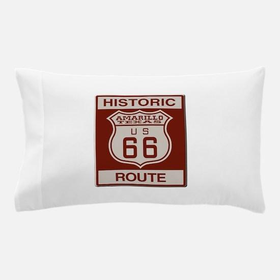 Amarillo Route 66 Pillow Case
