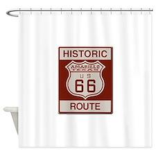 Amarillo Route 66 Shower Curtain