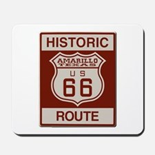 Amarillo Route 66 Mousepad