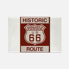 Amarillo Route 66 Magnets