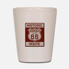 Amarillo Route 66 Shot Glass