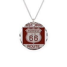 Amarillo Route 66 Necklace