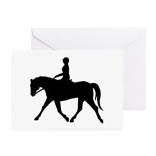 Horse Rider Greeting Cards (Pk of 10)