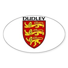Dudley, England Oval Decal