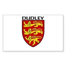 Dudley, England Rectangle Decal