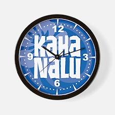 Kaha Nalu Wall Clock