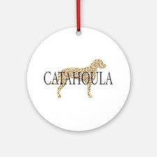 Catahoula Leopard Dogs Ornament (Round)