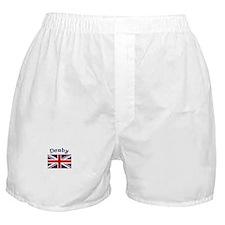 Derby, England Boxer Shorts