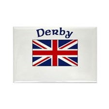 Derby, England Rectangle Magnet