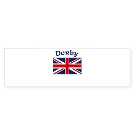 Derby, England Bumper Sticker