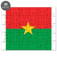 Flag of Burkina Faso Puzzle