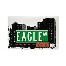 Eagle Av, Bronx, NYC Rectangle Magnet