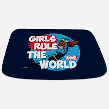Girls Rule the World Bathmat
