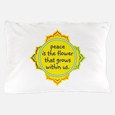 Peace is the Flower Pillow Case