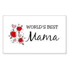 WB Mom [Mandarin] Rectangle Decal