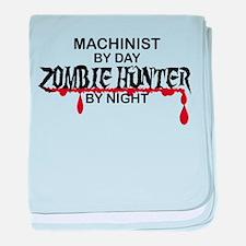 Zombie Hunter - Machinist baby blanket