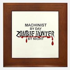 Zombie Hunter - Machinist Framed Tile