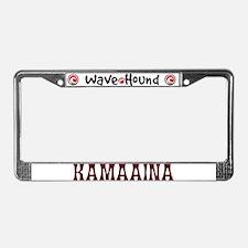 Kamaaina License Plate Frame