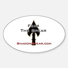 Fear Logo Oval Decal