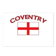 Coventry, England Postcards (Package of 8)