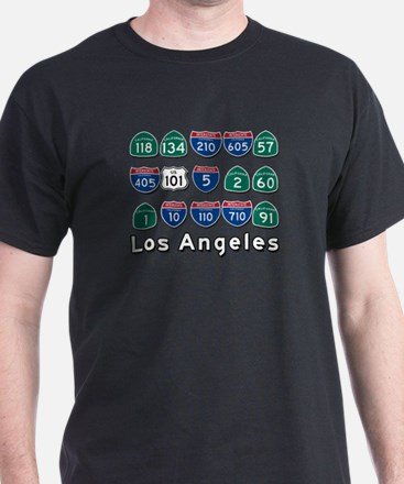 Los Angeles Highways T-Shirt