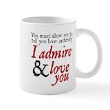 Mr darcy Coffee Mugs