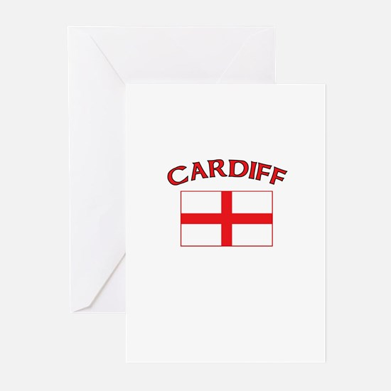Cardiff, England Greeting Cards (Pk of 10)