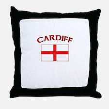 Cardiff, England Throw Pillow