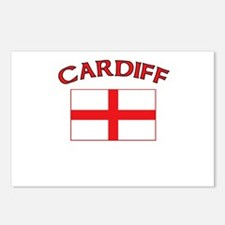 Cardiff, England Postcards (Package of 8)