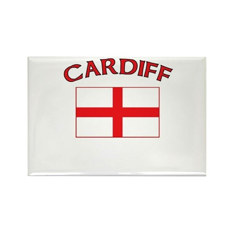 Cardiff, England Rectangle Magnet
