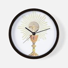 Unique Catholic Wall Clock