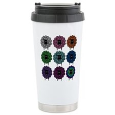 Unique Knit and crochet Travel Mug