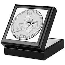 Texas State Quarter Keepsake Box