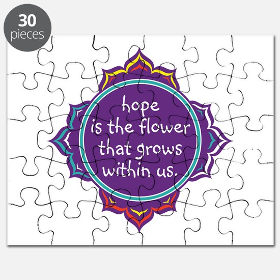 Hope is the Flower Puzzle