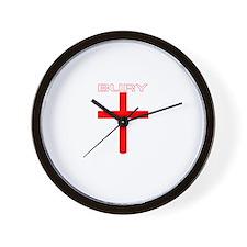 Bury, England Wall Clock