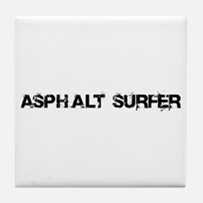 Asphalt Surfer Tile Coaster